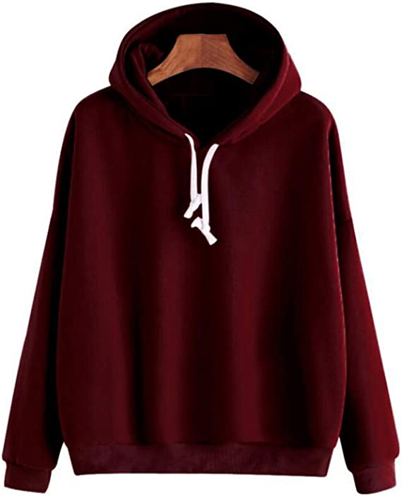 YUNY Mens Velvet Thickened Plus-Size Zip Pocket Casual Sweatshirts Red L