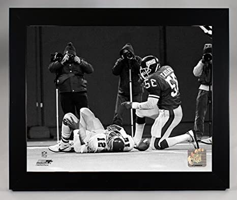 8eae59d1a Image Unavailable. Image not available for. Color  Framed New York Giants  Lawrence ...