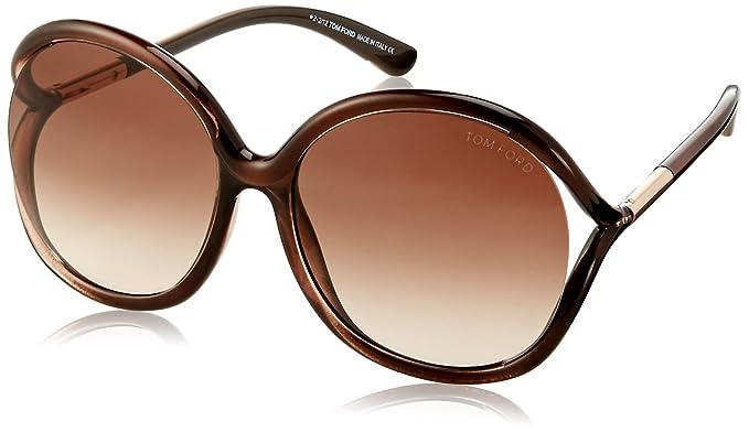 5052f73960b Amazon.com  Tom Ford Sunglasses TF 252 BROWN 50F Rhi  Tom Ford  Clothing