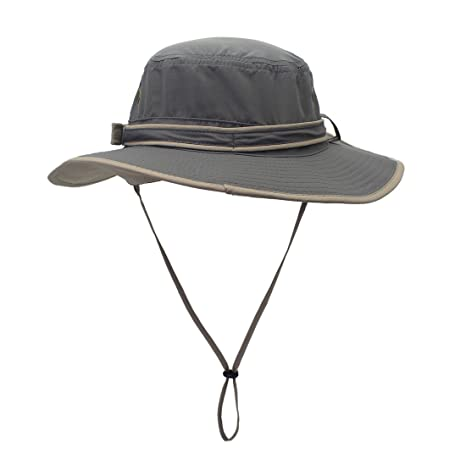 Decentron Unisex Quick Drying UV Protection Outdoor Sun Hat with Flap Neck  Cover bba216980080