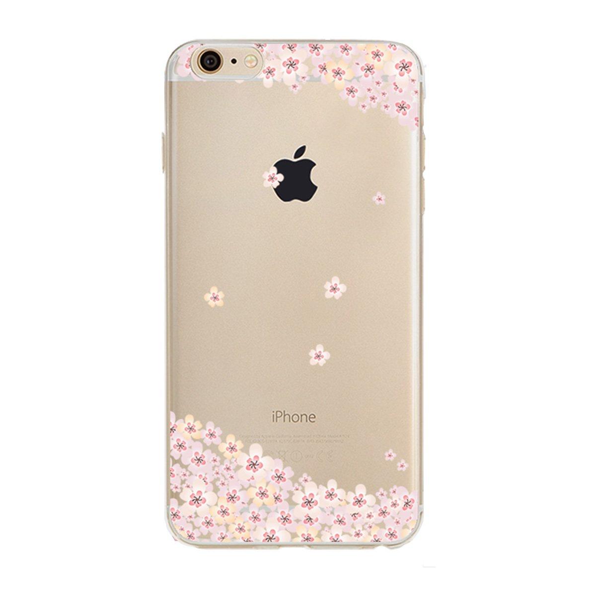【ラッピング不可】 (Floral 8) - iPhone TPU 6S Plus/ 6 8) Plus Clear Case, iPhone 6S Plus Clear Case, PHEZEN Cherry Blossom Flower Series Transparent TPU Bumper Soft Silicone Rubber Skin Back Case Cover for iPhone 6/6S Plus 14cm (Floral 8) Floral #8 B01LY12RZQ, windyside:0dea51e1 --- ciadaterra.com