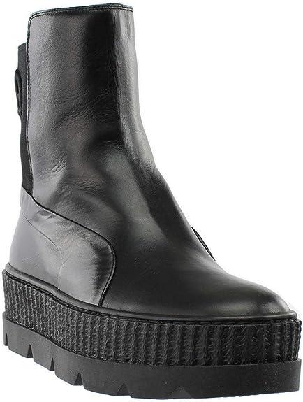 PUMA Unisex Puma x Fenty by Rihanna Chelsea Sneaker Boot Puma Black 9.5 Women / 8 Men M US
