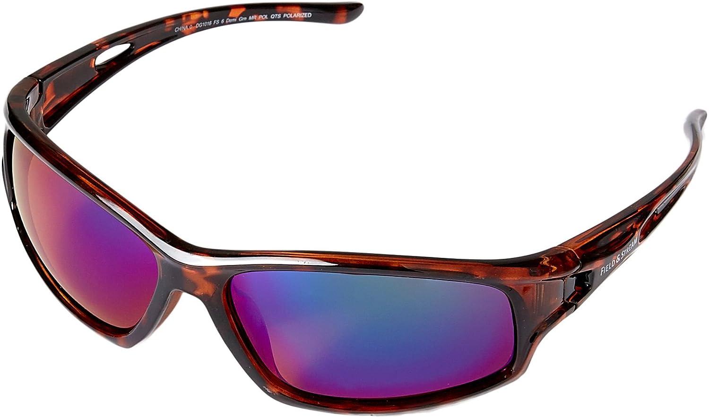 ba835dfc16 Amazon.com  Field   Stream FS6 Polarized Sunglasses (Black Smoke)  Sports    Outdoors