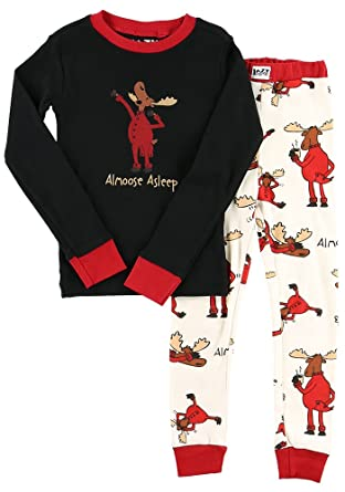 Amazon.com: Animal World - Moose Almoose Alseep Toddler Long ...
