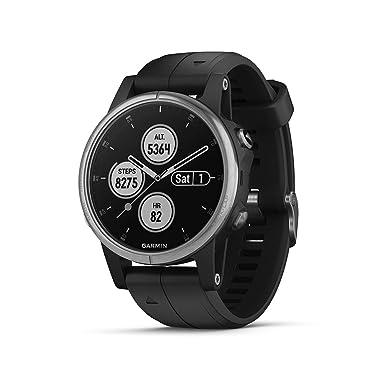 Garmin fprisnix 5 Plus - Reloj Deportivo multideportivo Premium con Música, GPS, mapas,