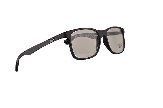 47a8f2576a Amazon.com  Ray-Ban RX8903 Eyeglasses 55-18-145 Matte Black w Demo ...