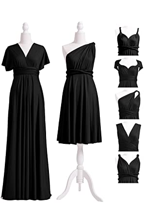 72STYLES Black Infinity Dress with Bandeau 29034e96fb58