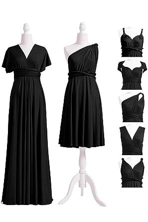 Long White Convertible Dress
