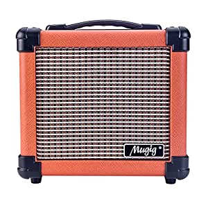 mugig guitar amplifier with handle portable amplifier for electric guitar 10w combo. Black Bedroom Furniture Sets. Home Design Ideas