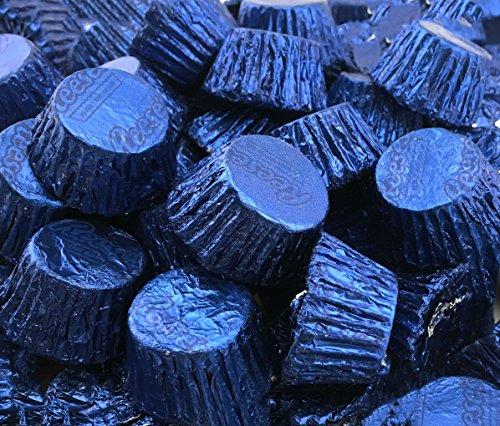 Reese's Dark Blue Miniatures Peanut Butter Cups Milk Chocolate (Pack of 2 (Reeses Chocolate Cookies)