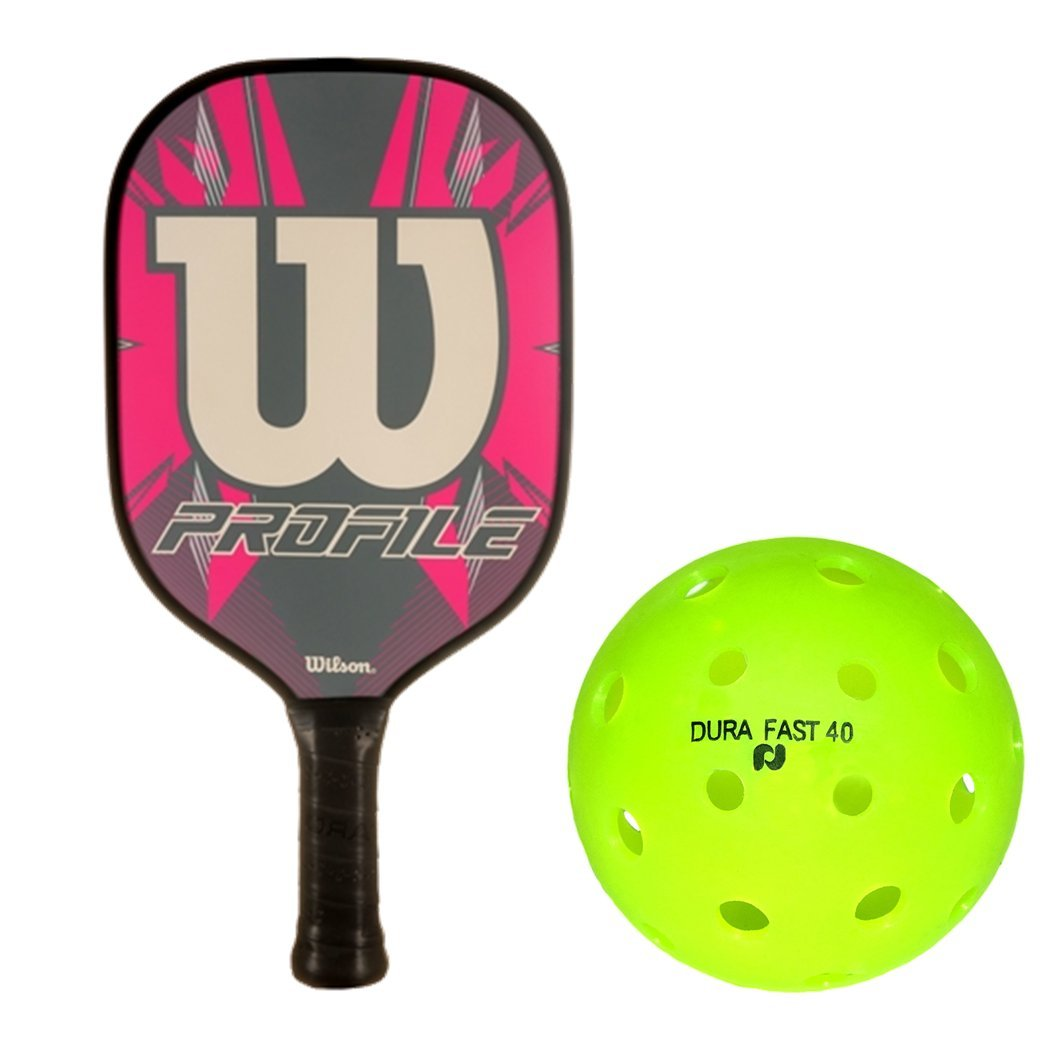 Amazon.com : Wilson Profile Blue/White Graphite Polymer ...