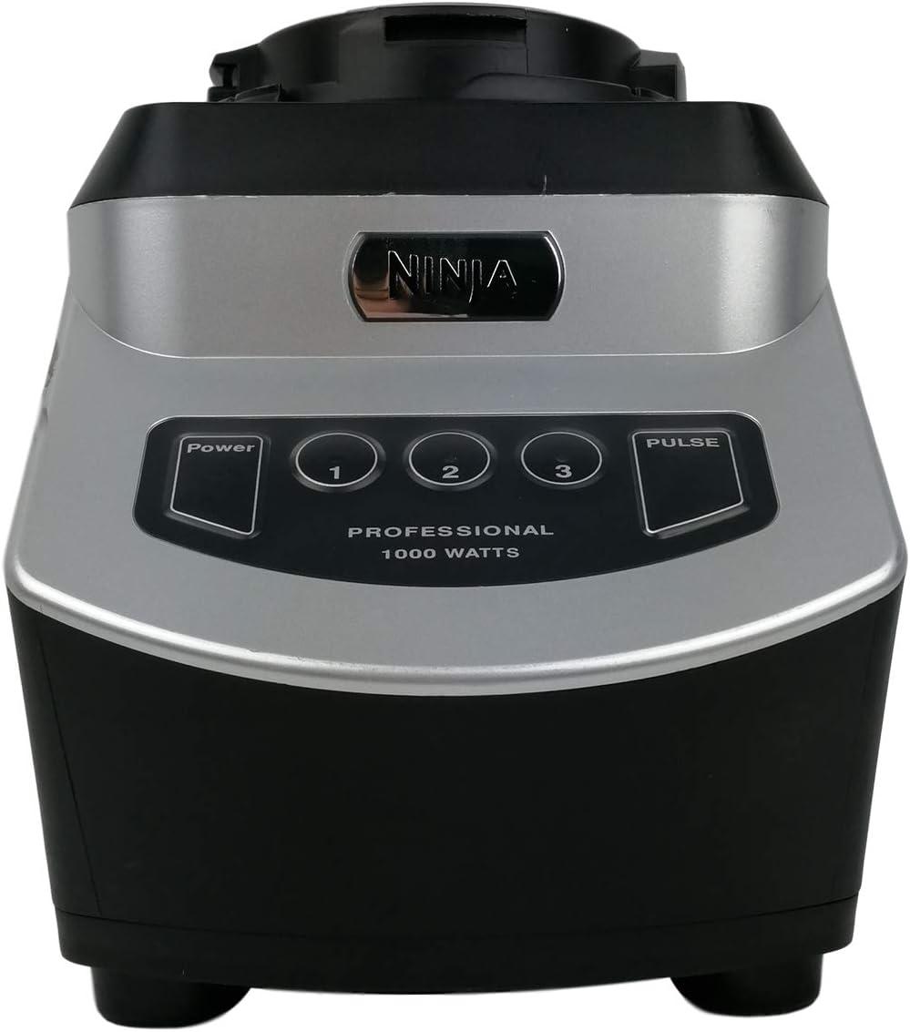 Original Nutri Ninja Auto-IQ Power Base Blender NJ600 1000 Watt 6 Fin Gear For 18oz 24oz 32oz BPA Free Tritan Cups And 72oz Pitcher Home Kitchen Appliance (Certified Refurbished)