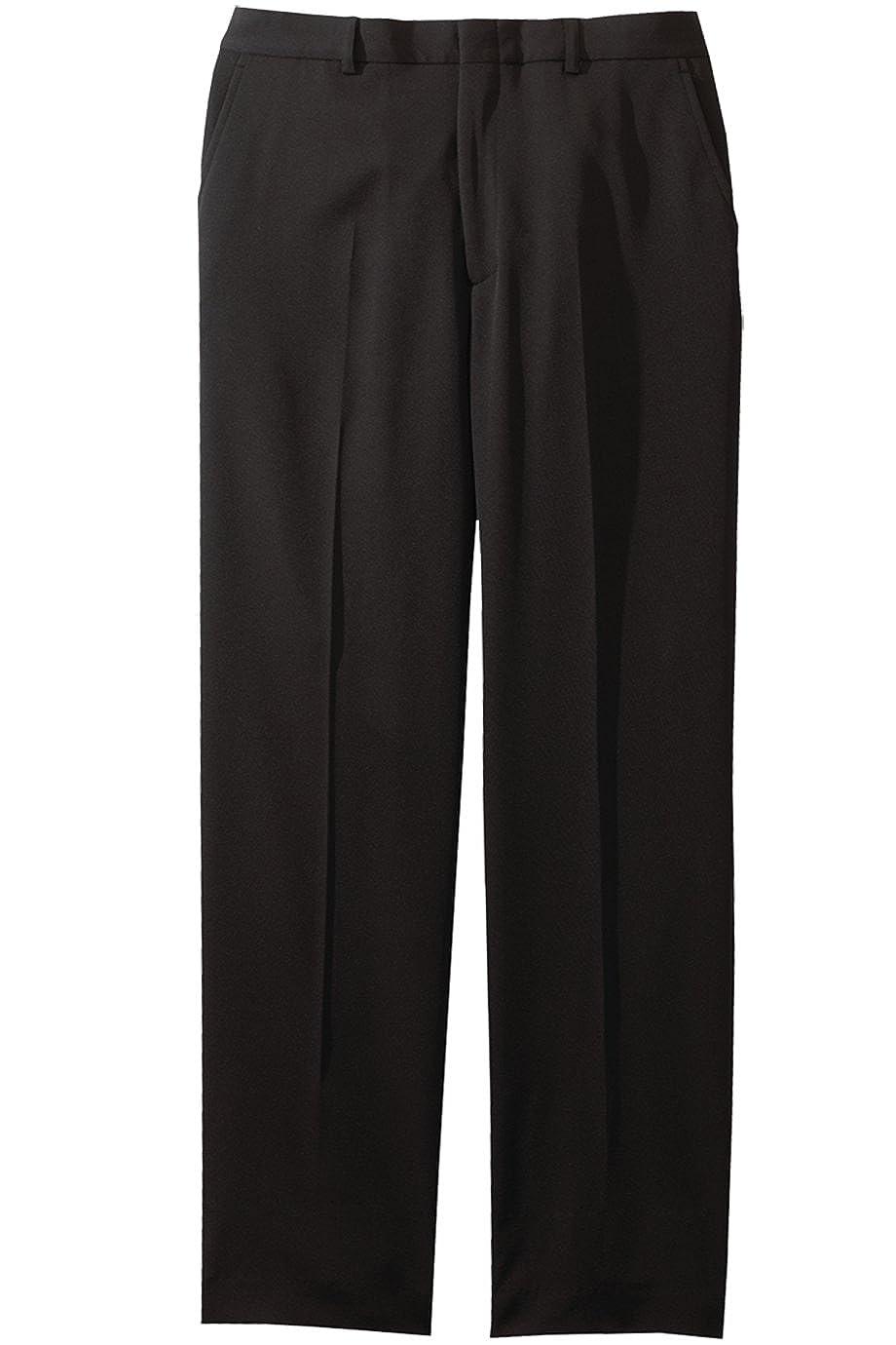 Black 50-28 Ed Garments MenS 2550 Hook Eye Nylon Zipper Casual Pants