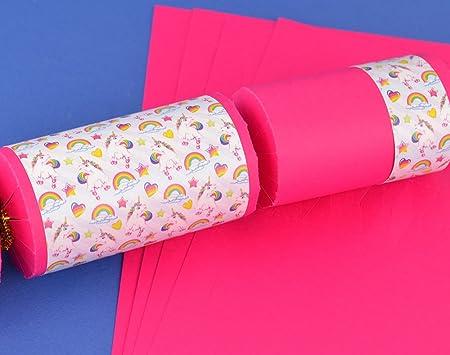 8 hot pink kids rainbow unicorn make fill your own crackers kit 8 hot pink kids rainbow unicorn make fill your own crackers kit solutioingenieria Images