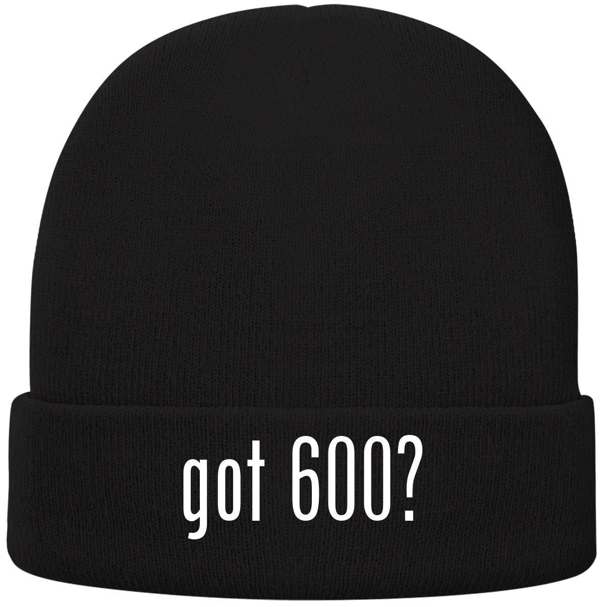 One Legging it Around got 600? - Soft Adult Beanie Cap