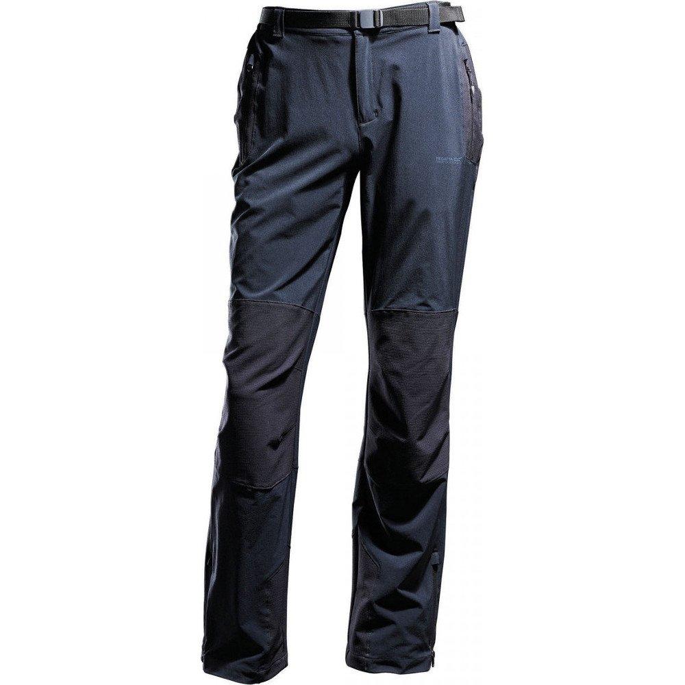 Regatta Exolite Alpine Mens Water-Repellent Trousers Black