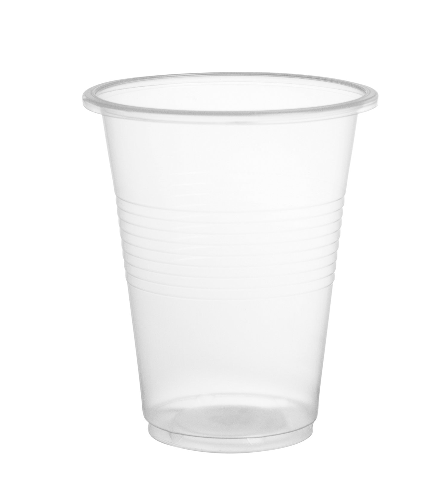 Disposoware D7OZPPC1200 7oz. PP Plastic Cups, 100/Bag, 12 Bags/Case (Case of 1200)