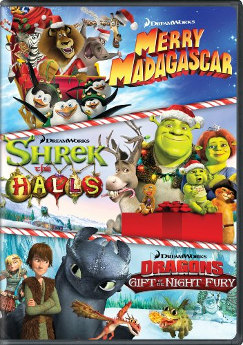 Dreamworks Holiday Classics (Merry Madagascar / Shrek the Halls / Gift of the Night Fury) by Dreamworks Animated