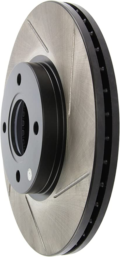 StopTech 126.61114SL Sport Slotted Rotor Left