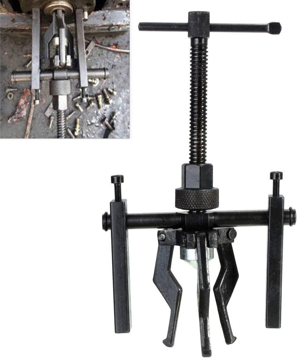 NO LOGO 1pc 3 Garras rodamiento Interior Extractor Tool Kit Interior Agujero de Soporte y jalar Mantenimiento Durante 12~38 mm rodamientos