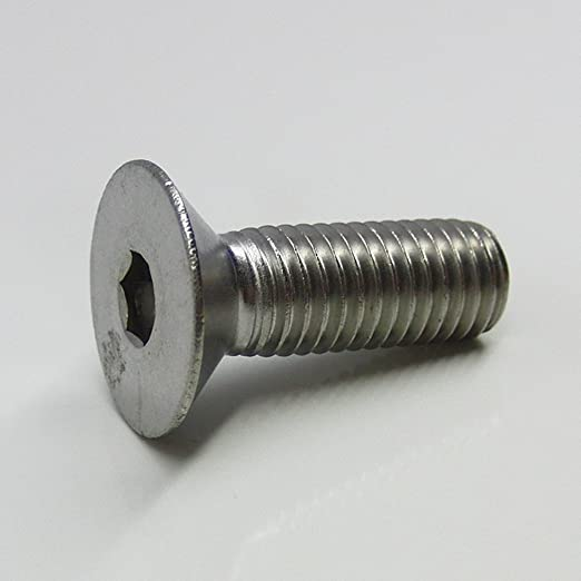 - DIN 7991 // ISO 10642 SC-Normteile/® SC7991 Senkkopfschrauben mit Innensechskant 25 St/ück Senkschrauben ISK - M8x25 - Werkstoff: Edelstahl A2 V2A Vollgewinde