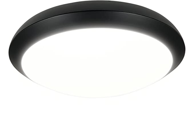 Plafoniere Esterno Led : Heitronic plafoniera led merkur anello esterno sensore w