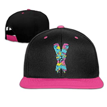 Zcfhike Hombres Mujeres Jake Paul X Logotipo de Camuflaje Hip Hop ...