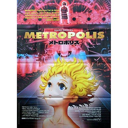 METROPOLIS Póster de película, 120 x 160 cm,-2001-Rintaro ...