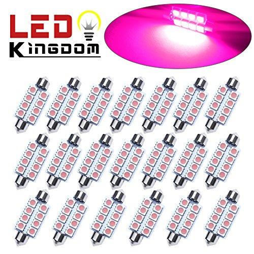 Pink Led Dome Lights - 8