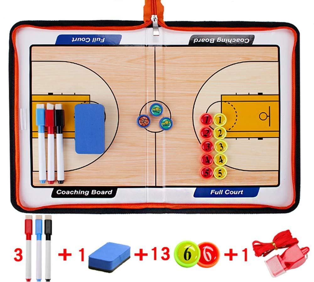 ABCCS Basketball Pliable Magn/étique Entra/înement Tactique Conseil Comp/étition Athl/ète Commande R/éinscriptible