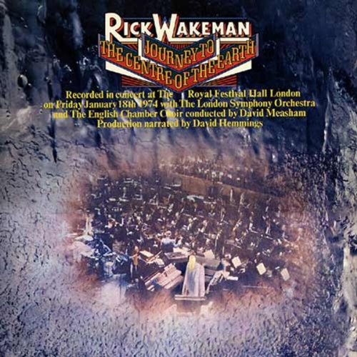 Journey to the Centre of the Earth by WAKEMAN,RICK
