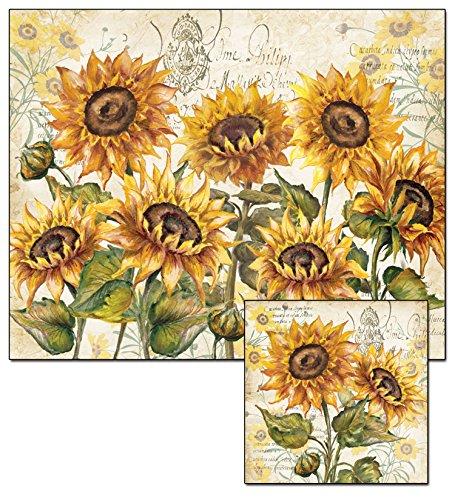 CounterArt Tuscan Sunflower Cutting Trivet