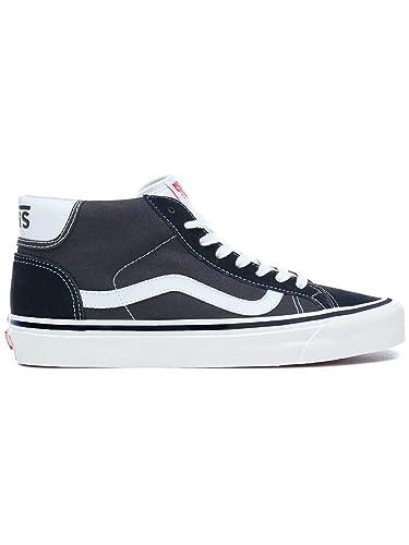 5fc83433d04ce5 Vans Sneaker Men Anaheim Factory Mid Skool 37 DX Sneakers Black White   Amazon.co.uk  Shoes   Bags