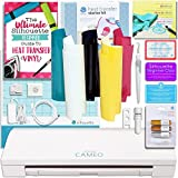 Silhouette CAMEO 3 T-Shirt Starter Bundle with Starter Guide, Online Class, 4 PC. Metallic Pens, Heat Transfer Starter Kit, and More! by Silhouette America