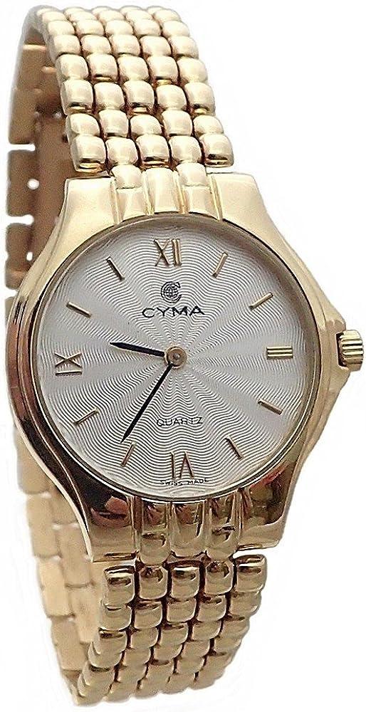 Reloj Oro 18K Cyma Modelo Panter Mujer [Ab4258] - Modelo: 6521