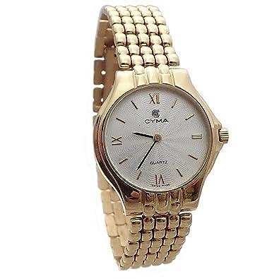 Reloj oro 18k Cyma modelo panter mujer [AB4258] - Modelo: 6521: Amazon.es: Joyería