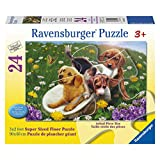 Ravensburger Frolicking Puppies Floor Puzzle (24-Piece)