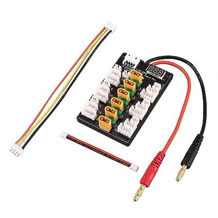 Amazon Com Xt30 1s 3s Xt30 Plug Lipo Battery Parallel