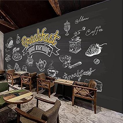 Poowef 3D Wallpaper Papel Tapiz 3D Pan Casa Té Matutino ...
