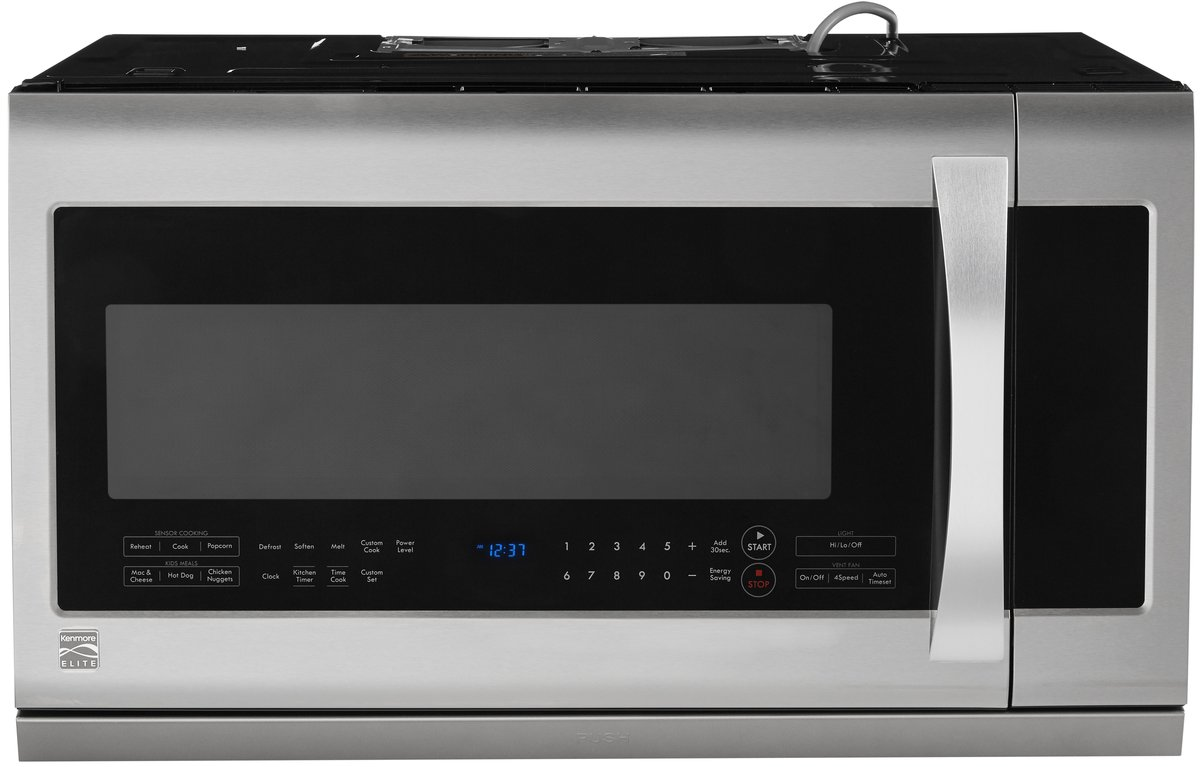 Kenmore Elite 87583 2.2 cu. ft. Over-the-Range Microwave Oven, Stainless Steel