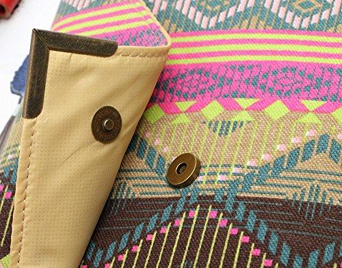 Mädchen PurseWomen Umschlag Clutch Handtasche Damen Tasche