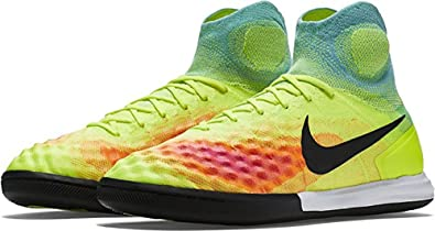 Nike MagistaX Proximo II IC Indoor Soccer Shoes (BlackBlack GumLight Brown Nike  Mens Magistax Proximo II Indoor Shoes VOLT (9) ...