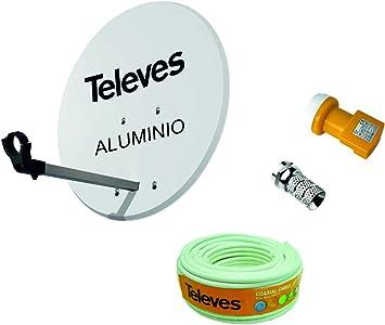 Kit Antena PARABOLICA para Astra TELEVES 63cm Aluminio ...