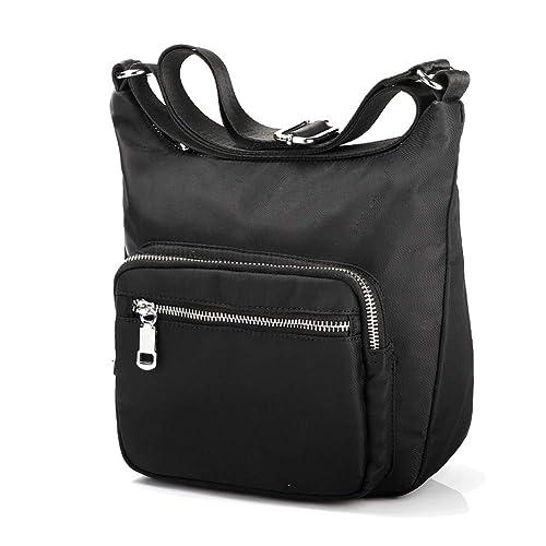 a69d1dbe1214 ZORFIN Crossbody Bag for Women Waterproof Shoulder Bag Travel Pocketbooks  Casual Nylon Purse Handbag