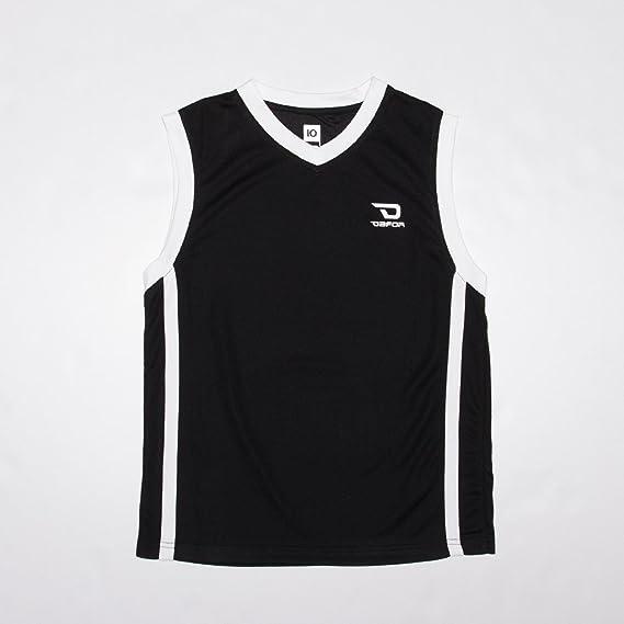 Dafor Camiseta Baloncesto Junior Negra (Talla: 16): Amazon ...