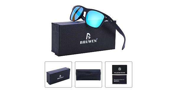 994ea6e54d Polarized Sunglasses for Men and Women with Case 100% UV400 Protection  Unisex Sunglasses. Brand  BRUWEN