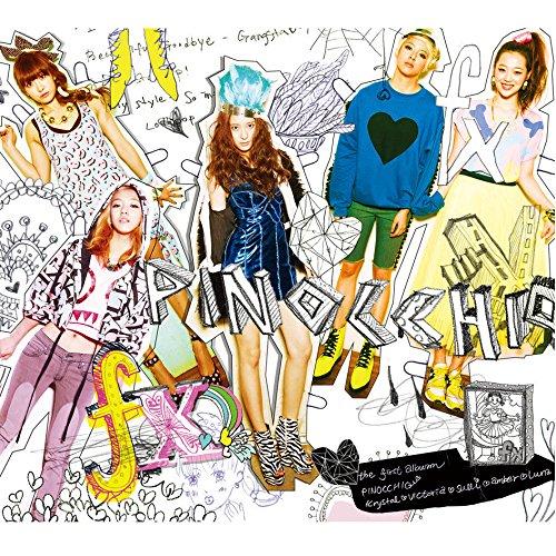 F(X) [PINOCCHIO] VOL.1 1st Album CD+Photobook FX+Tracking Number K-POP SEALED