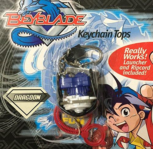 Basic Fun Beyblades Dragoon Series I Keychain