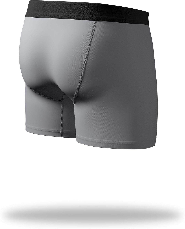 Pair of Thieves Mens Mega Soft Boxer Briefs Breathable Cotton//Modal Blend No Chafe Seam Underwear for Men