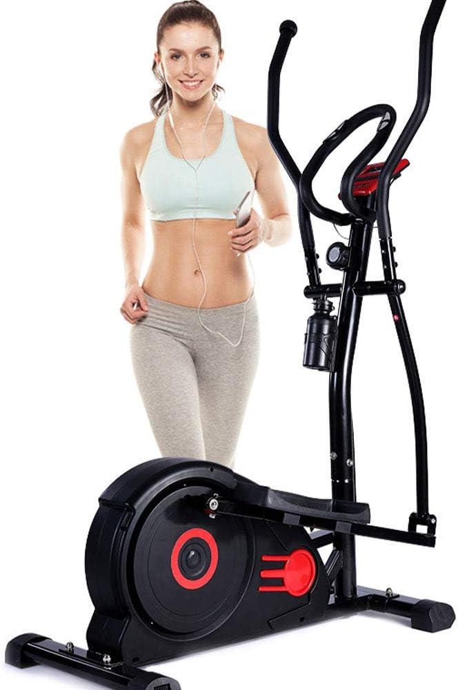 LMZZGAOYANQING Bicicleta elíptica multifunción, Bicicleta magnética, Equipo de Ejercicio de Control magnético silencioso, máquina de Entrenamiento Cardiovascular Cardio para Adelgazar